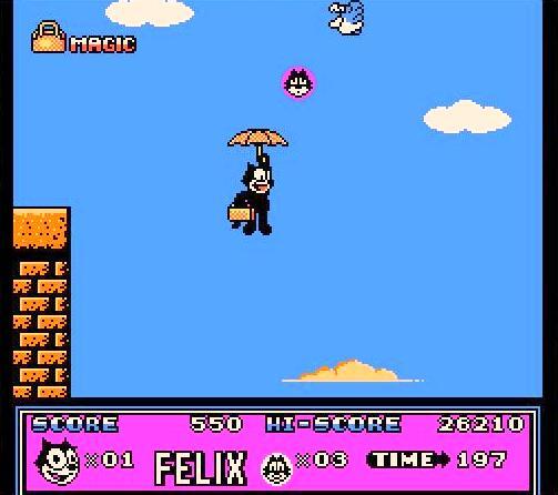 Nintendo Cat Game