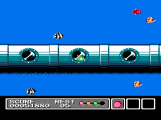 Screenshot Thumbnail / Media File 1 for Gimmick! (Japan)