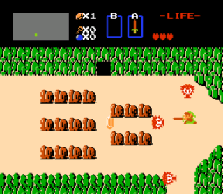 Screenshot Thumbnail / Media File 1 for Legend of Zelda, The (USA)