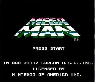 Screenshot Thumbnail / Media File 1 for Mega Man (USA)