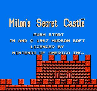 Screenshot Thumbnail / Media File 1 for Milon's Secret Castle (USA)