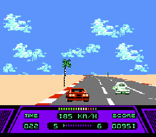 Screenshot Thumbnail / Media File 1 for Rad Racer (USA)