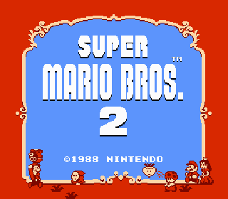 Screenshot Thumbnail / Media File 1 for Super Mario Bros. 2 (USA)