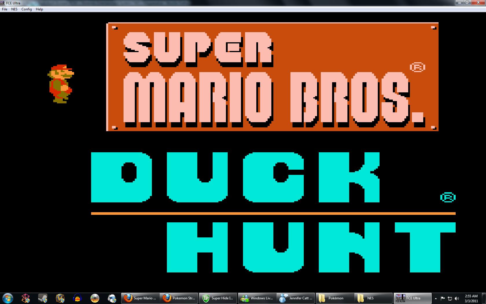 Clasicaso Duck Hunt Y Duck Hunt 3d Portables Identi