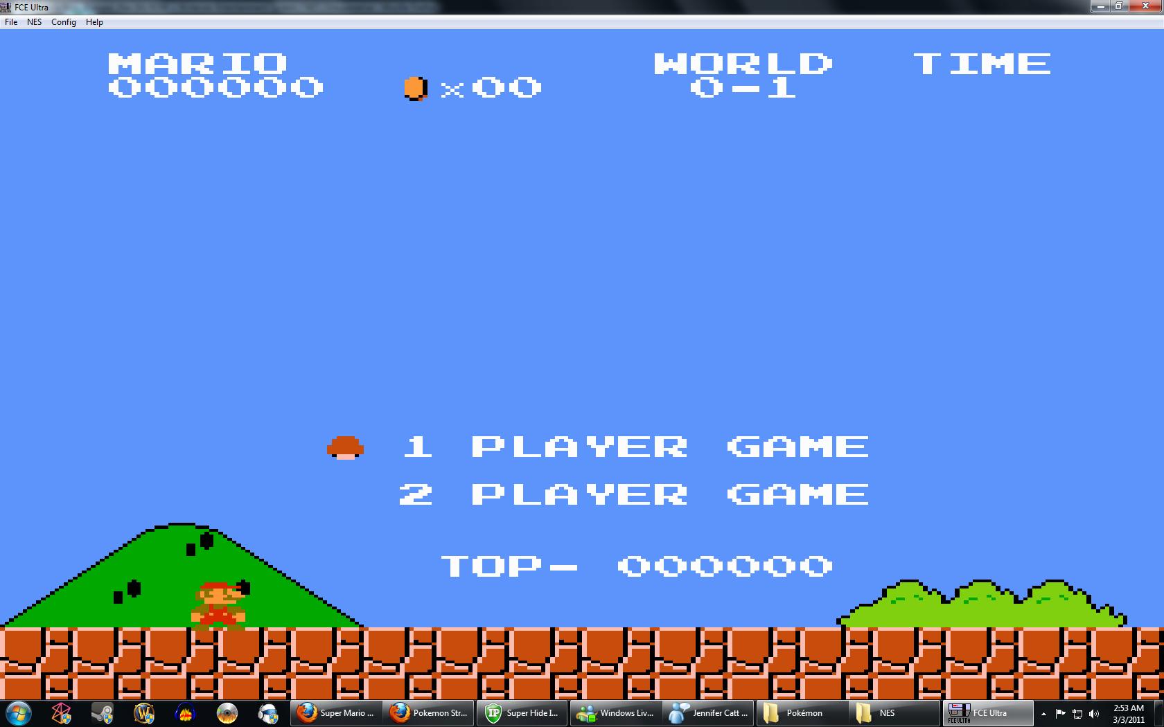 Super Mario Bros Europe Rev 0a Rom