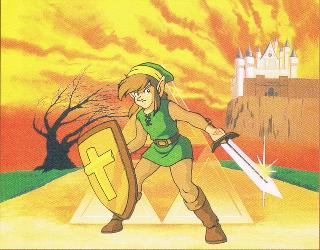 Screenshot Thumbnail / Media File 1 for Zelda II - The Adventure of Link (USA)
