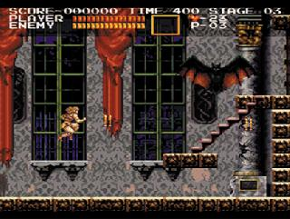 Screenshot Thumbnail / Media File 1 for Akumajou Dracula (1993)(Konami)(Disk 1 of 2)
