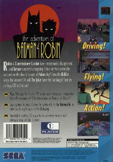Screenshot Thumbnail / Media File 1 for Adventures Of Batman & Robin (U)