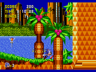Screenshot Thumbnail / Media File 1 for Sonic CD (Europe)