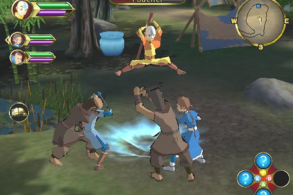 avatar the last airbender games
