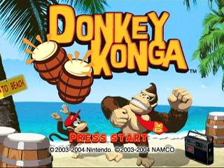 Screenshot Thumbnail / Media File 1 for Donkey Konga