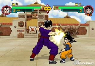 Screenshot Thumbnail / Media File 1 for Dragonball Z Budokai 2