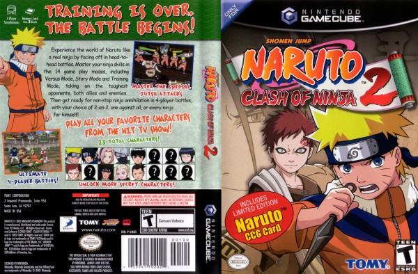 Naruto Clash Of Ninja Series : Naruto clash of ninja iso