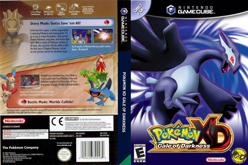 Pokemon Xd Gale Of Darkness Iso