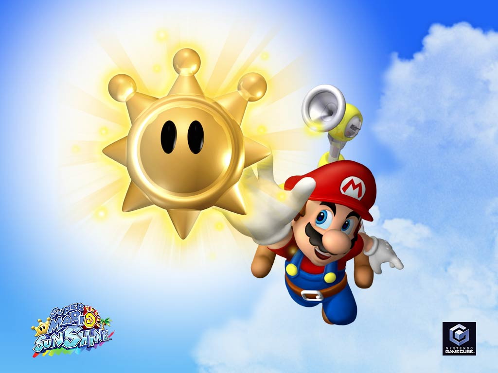 super mario sunshine sun