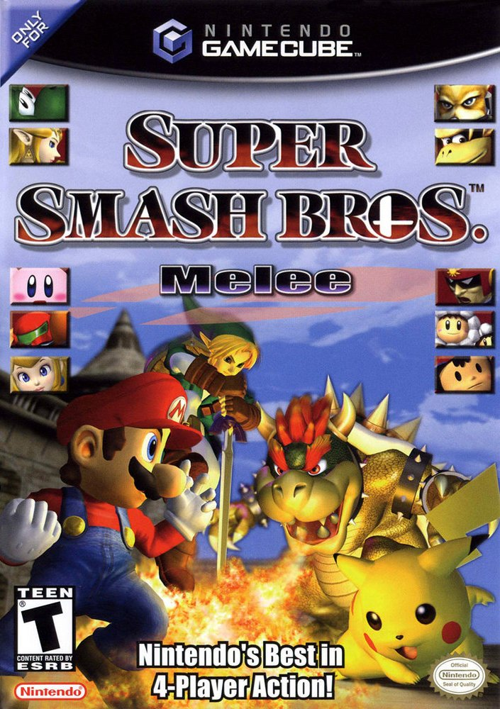 Super Smash Bros Melee Gcm