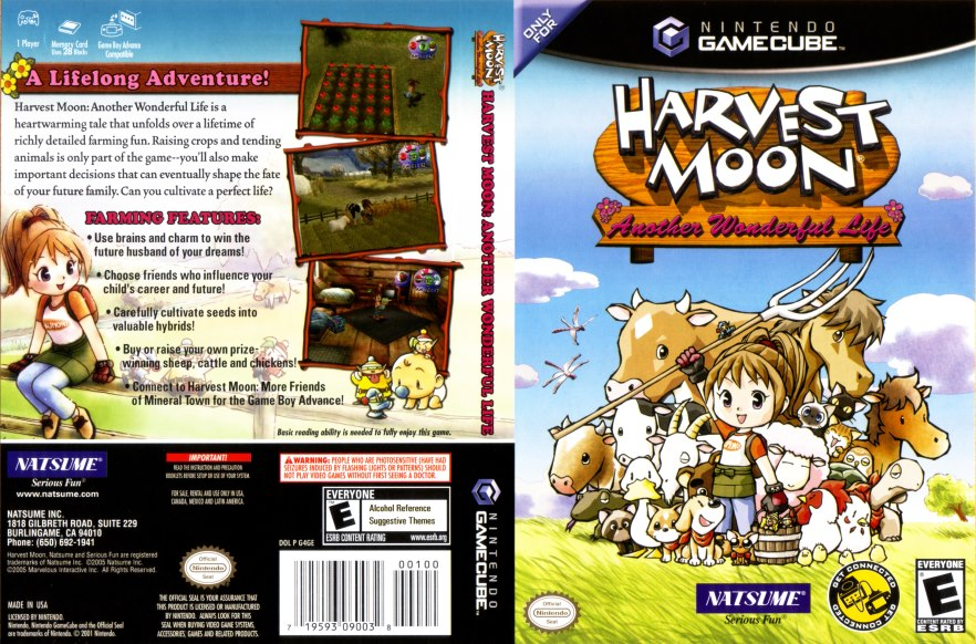 Game Harvest Moon Ps2 Iso