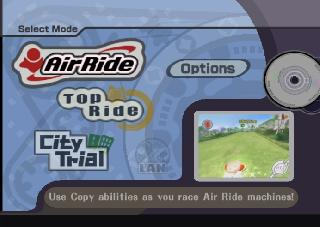 Screenshot Thumbnail / Media File 1 for Kirby Air Ride PROPER