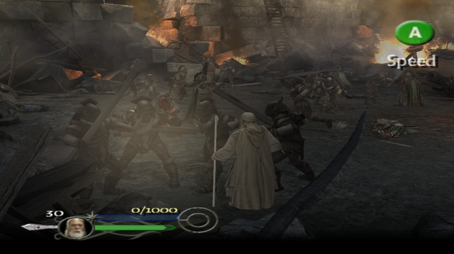 Lord Of The Rings Return Of The King Game Gamecube