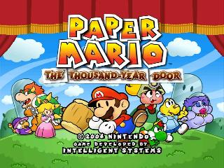 Screenshot Thumbnail / Media File 1 for Paper Mario - The Thousand-Year Door (Europe) (En,Fr,De,Es,It)