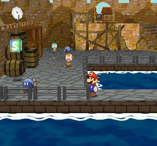 Screenshot Thumbnail / Media File 1 for Paper Mario - The Thousand-Year Door (Europe) (En,Fr,De,Es,It)