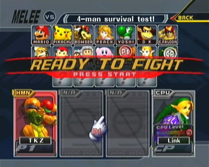 descargar super smash bros melee para pc 1 link