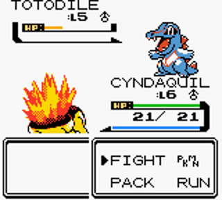 Screenshot Thumbnail / Media File 1 for Pokemon - Gold Version (USA, Europe)