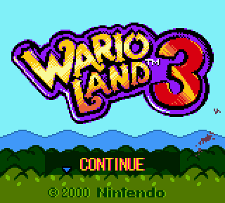 Screenshot Thumbnail / Media File 1 for Wario Land 3 (World) (En,Ja)