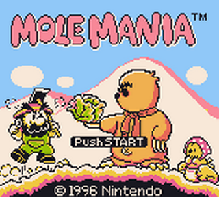 Screenshot Thumbnail / Media File 1 for Mole Mania (USA, Europe)