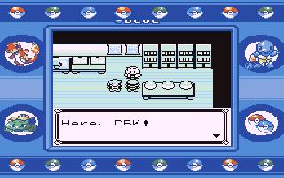 Screenshot Thumbnail / Media File 1 for Pokemon - Blue Version (USA, Europe)