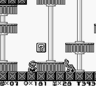 Screenshot Thumbnail / Media File 1 for Super Mario Land 2 - 6 Golden Coins (USA, Europe)