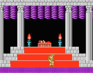 Screenshot Thumbnail / Media File 1 for Legend of Zelda 2, The - Link no Bouken (Japan) (v1.1)