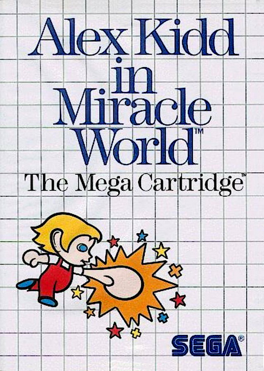Thumbnail / Media File 3 for Alex Kidd in Miracle World (USA, Europe