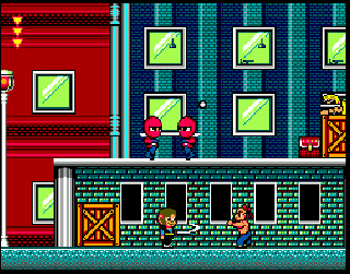 Screenshot Thumbnail / Media File 1 for Alex Kidd in Shinobi World (USA, Europe)