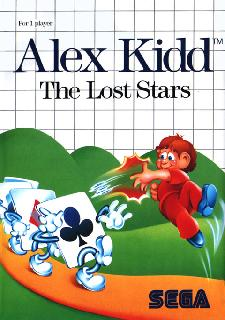 Screenshot Thumbnail / Media File 1 for Alex Kidd - The Lost Stars (World)
