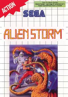 Screenshot Thumbnail / Media File 1 for Alien Storm (Europe)