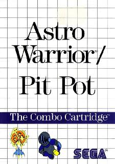 Screenshot Thumbnail / Media File 1 for Astro Warrior & Pit Pot (Europe)