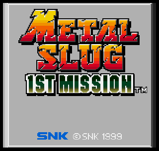 Screenshot Thumbnail / Media File 1 for Metal Slug - 1st Mission
