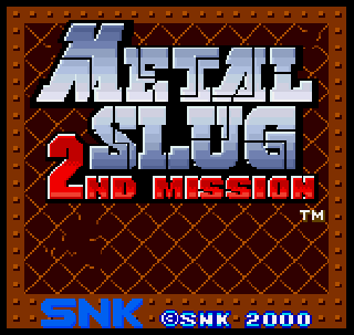 Screenshot Thumbnail / Media File 1 for Metal Slug - 2nd Mission