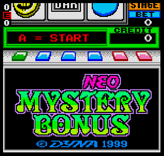 Screenshot Thumbnail / Media File 1 for Neo Mystery Bonus
