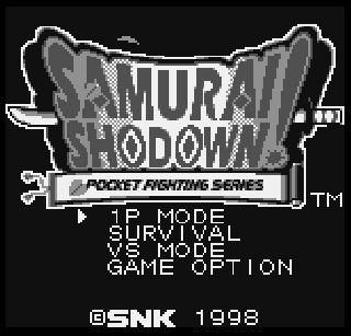 Screenshot Thumbnail / Media File 1 for Samurai Shodown!