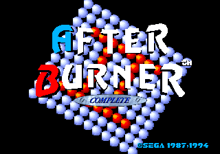 Screenshot Thumbnail / Media File 1 for After Burner Complete (32X)