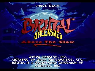 Brutal Unleashed - Above the Claw (32X)