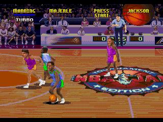 Screenshot Thumbnail / Media File 1 for NBA Jam Tournament Edition (32X)