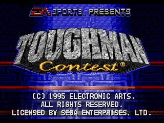 Screenshot Thumbnail / Media File 1 for Toughman Contest (32X)