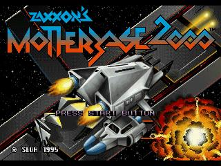 Screenshot Thumbnail / Media File 1 for Zaxxon's Motherbase 2000 (32X)