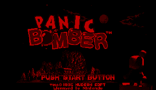 Screenshot Thumbnail / Media File 1 for Panic Bomber (USA)