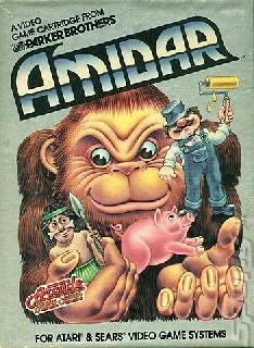 Screenshot Thumbnail / Media File 1 for Amidar (1982) (Parker Brothers, Ed Temple) (PB5310)