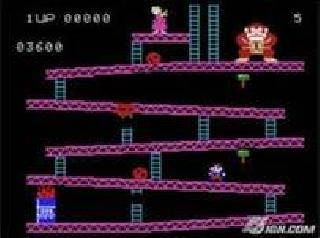 Screenshot Thumbnail / Media File 1 for Donkey Kong (1982) (Coleco, Dan Kitchen, Garry Kitchen) (2451)