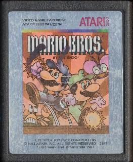 Screenshot Thumbnail / Media File 1 for Mario Bros. (1983) (Atari, Dan Hitchens) (CX2697)